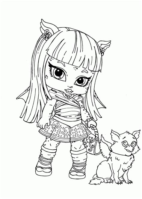 monster high rochelle coloring pages pictures rochelle goyle monster high coloring pages