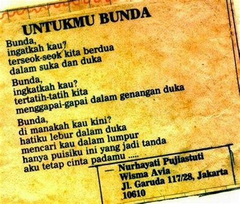 menulis puisi untuk majalah nurhayati pujiastuti s blog