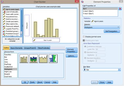 spss tutorial nederlands histogram maken met de spss chart builder tutorial