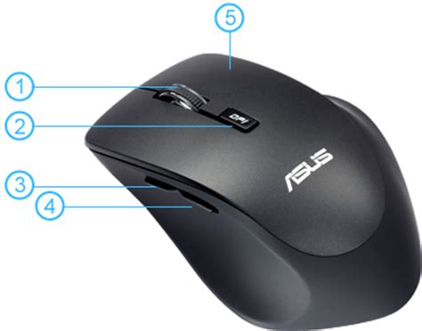 Mouse Asus Wireless asus wt425 wireless mouse optical 5 buttons new original high quality white