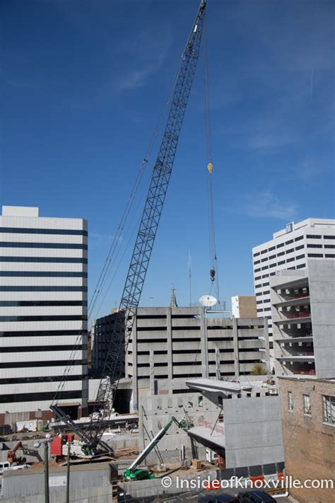 Parking Garage Construction by Walnut Garage Takes Shape What Do You Think