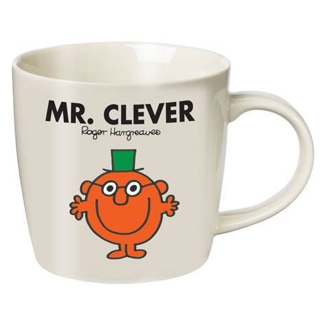 new mr clever boxed mug retro little miss mr men books