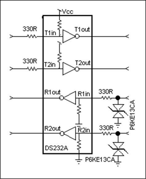 esd diode for rs232 tech brief 10 esd considerati 电源设计应用 电子发烧友网