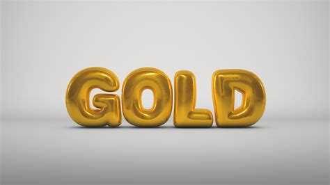 cinema 4d typography gold render 3d cinema 4d typography bubbles balloon wallpaper no 288327