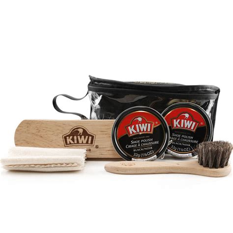 Dress Shoe Cleaning Kit by Kiwi Black Dress Shoe Care Kit Usamm