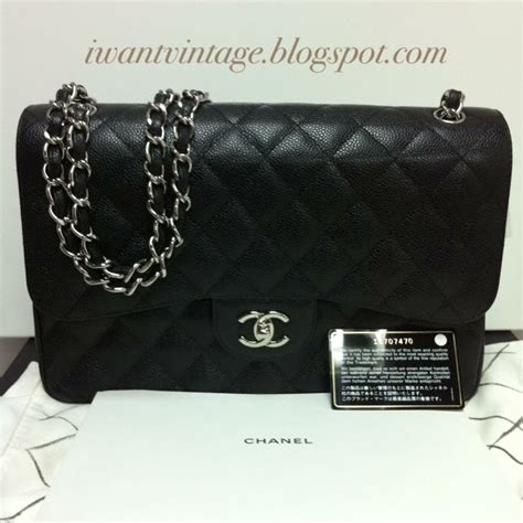 Ode To Kates Jumbo Chanel Flap by I Want Vintage Vintage Designer Handbags Chanel Classic
