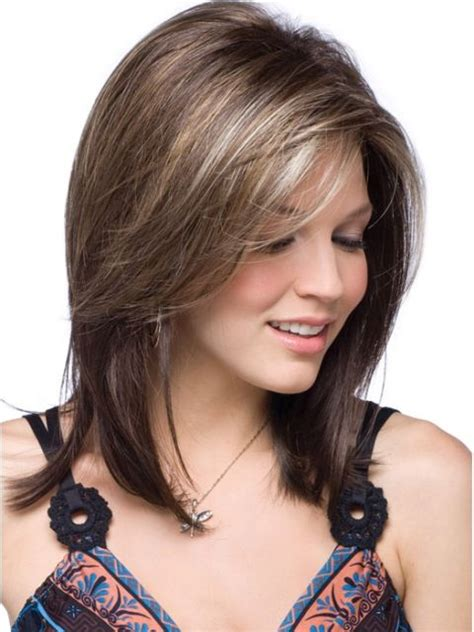 Medium Brown Hairstyles by 14 Finest Medium Length Hairstyles For Faces