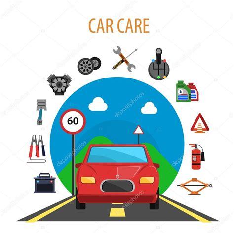 car service car service concept stock vector 169 macrovector 85506154