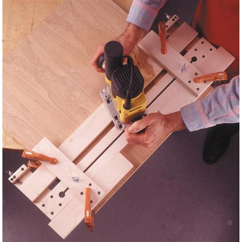 woodworking fixtures fail safe router jig woodworking plan from wood magazine