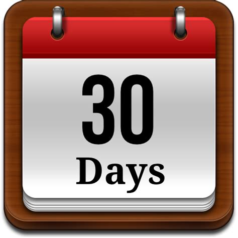 30 days to a the next 30 days