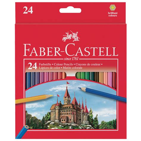 Pencil Warna Faber Castell 24 Warna Water Colour faber castell classic colour pencils set of 24 cult pens