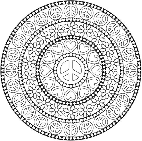 coloring pages for adults peace welcome to dover publications