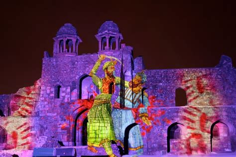 light and sound show satisfying curiosities of enthusiastic tourists with
