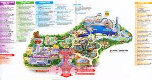 disney california adventure 2009 park map