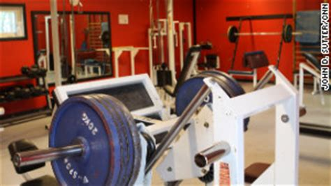 prison weight room americans discover prison systems