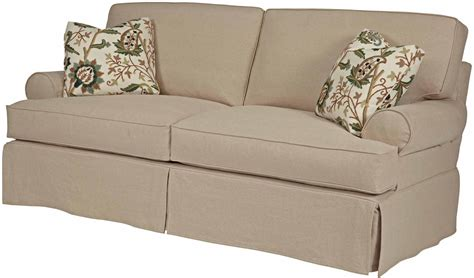 t loveseat t cushion sofa slip cover sure fit cotton clic t cushion