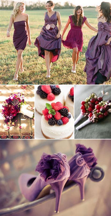 color berry american wedding wisdom