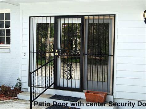 Security Grilles For Patio Doors Glassessential 174 Patio Door Security Gate Http Www Glassessential Door Security Door