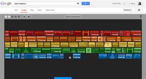google images easter egg games google commemorates atari breakout with a fully playable