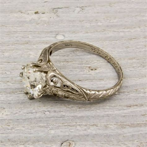 how do i thee bliss antique wedding rings