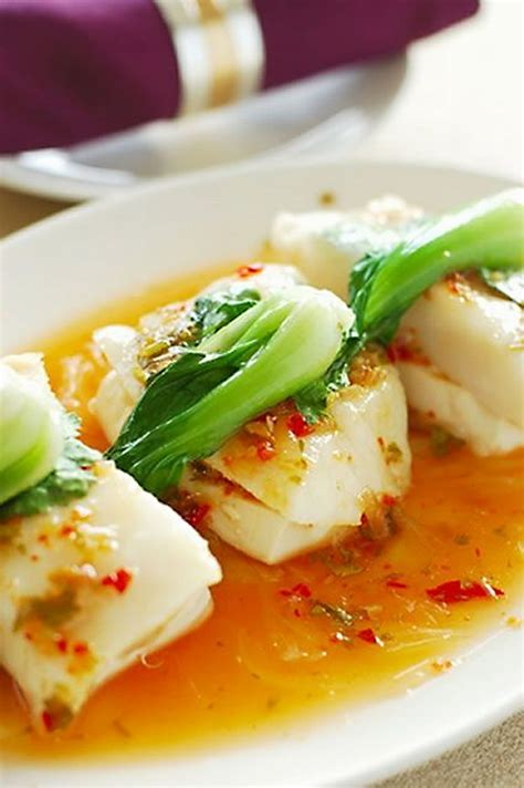 Healthy Fast Dinner Spiced Fish by Spicy Soy Sauce Steamed Fish Healthy Authentic Family