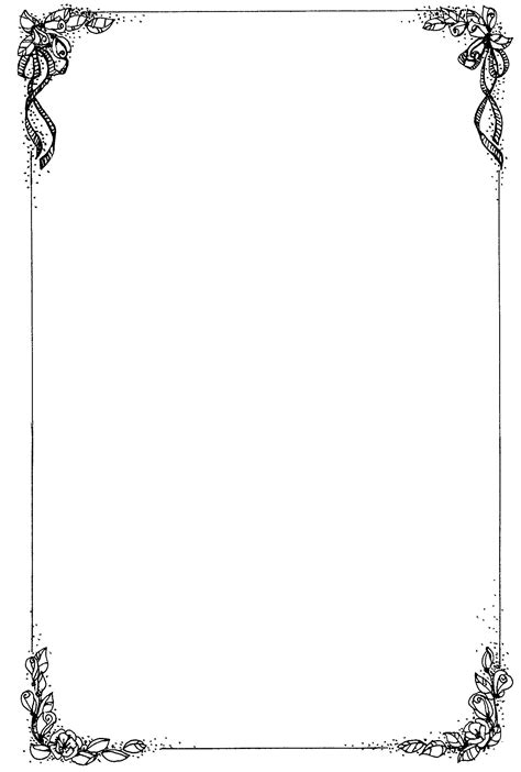 Wedding Border For Word Document by Borders For Microsoft Word Document