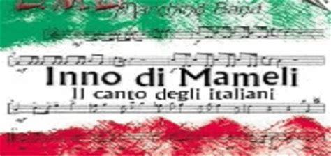 inno di mameli testo originale governo italiano dipartimento per il cerimoniale dello stato