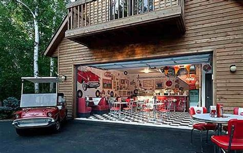 Garage Diner by Cave Ideas Every Will Like 20 Pics Picture 20