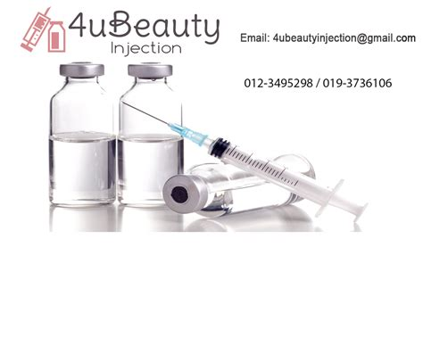 Mixing White Injection Malaysia skin injection and whitening injection