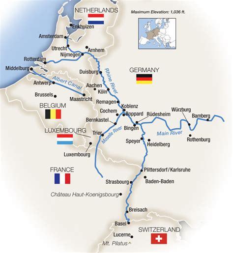presidents cruise best of rhine river switzerland to rhine river facts tauck