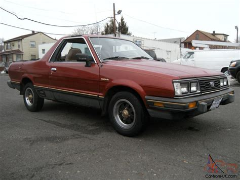 subaru brat turbo for sale 1984 subaru brat gl turbo standard cab pickup 2 door 1 8l