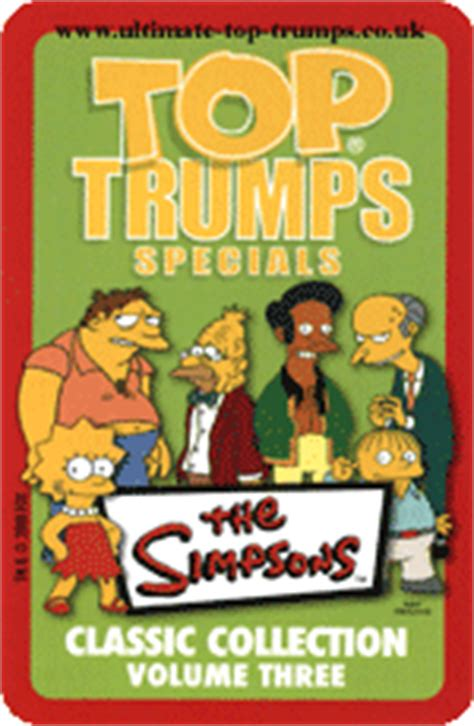 classic collection volume 3 0007420544 the simpsons classic collection volume 3 top trumps simpsons wiki