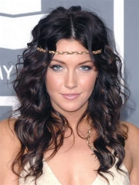 pretty curly hairstyles hairstyles for wavy hair