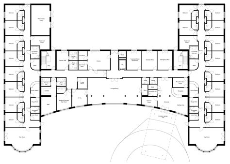 Nursing Home Floor Plan nursing home design home design