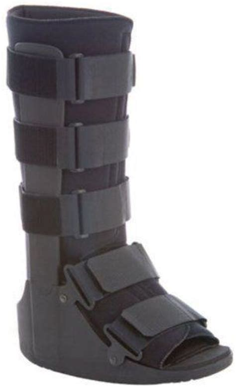 walking boot for broken foot walker braces supports ebay