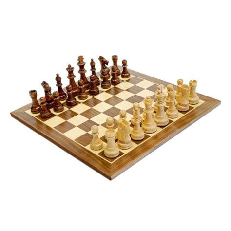 wooden chess set games wood expressions 15 quot wood chess set