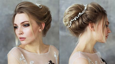 Bun Hairstyles For Hair by Bun Hairstyle In Hair Boho Bun Updo For Hair