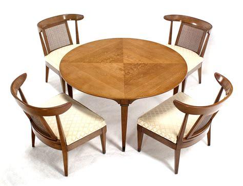 bridge table and chairs set mid century modern bridge table with four chairs set