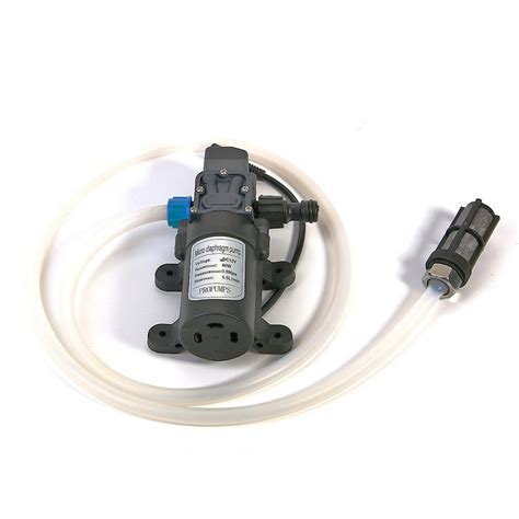 Pompa Air Mini 24 Volt pompa air 12v 80w dengan selang kepala semprotan