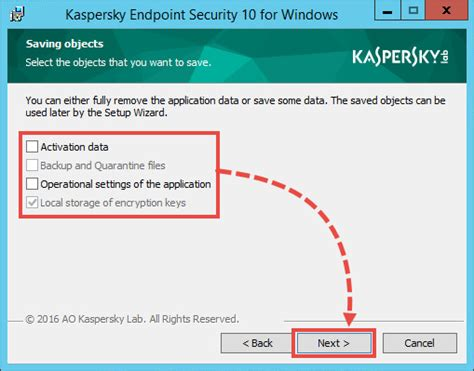 kaspersky reset number of incurable objects how to remove kaspersky endpoint security 10 for windows