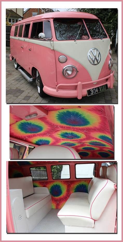 pink volkswagen inside i ve seen this pink volkswagen before but never the