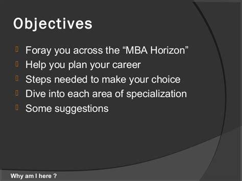 Mba Career Choices by Mba As A Career