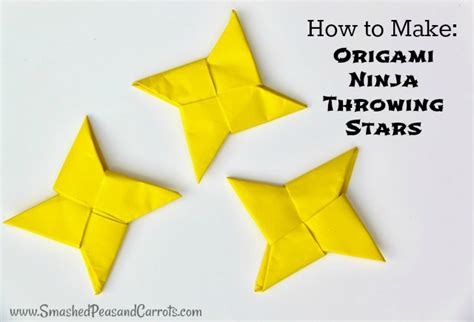 Throwing Origami - origami throwing smashed peas carrots
