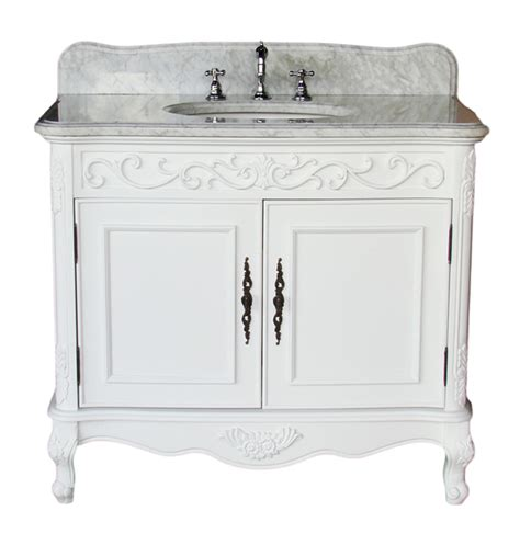 39 Inch Vanity Top by Adelina 39 Inch Antique Bathroom Vanity White Finish