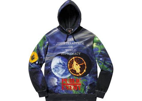 Hoodie Zipper Enemy Gg supreme undercover enemy hooded sweatshirt summer 2018