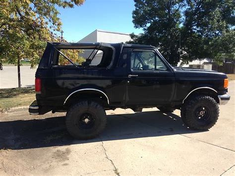 auto body repair training 1989 ford bronco transmission control sell used 1989 ford bronco xlt 5 8l 351 automatic in west des moines iowa united states
