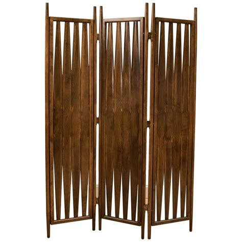 mid century modern room divider mid century screen room divider for sale at 1stdibs
