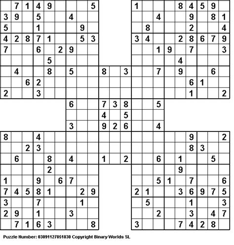 printable samurai sudoku x 1000 images about sudoku on pinterest kerst pi day and 4x4