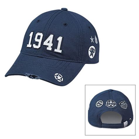 Jeep Baseball Cap All Things Jeep Quot 1941 Quot Blue Jeep Baseball Cap