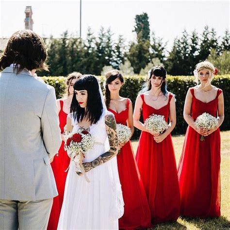 dress pink hannah pixie snowdon bring me the horizon 95 best images about alternative weddings on pinterest